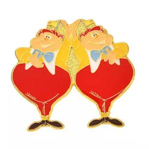 Tweedle Dum and Tweedle Dee - 70th Anniversary Shop Disney Japan pin