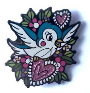 Hannah Mai Cinderella Bird pin