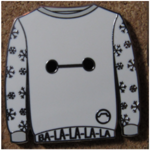 Ugly Christmas Sweaters - Baymax pin