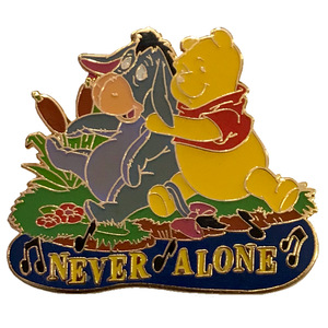 "Magical Musical Moments No. 34 - The Best of Pooh and Tigger, Too - ""Never Alone (Eeyore's Lullaby)"" pin"