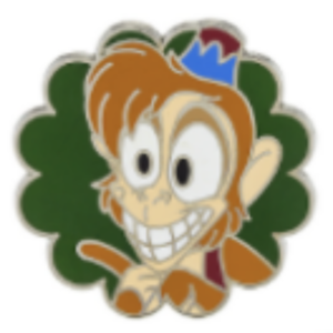 Abu Grins pin