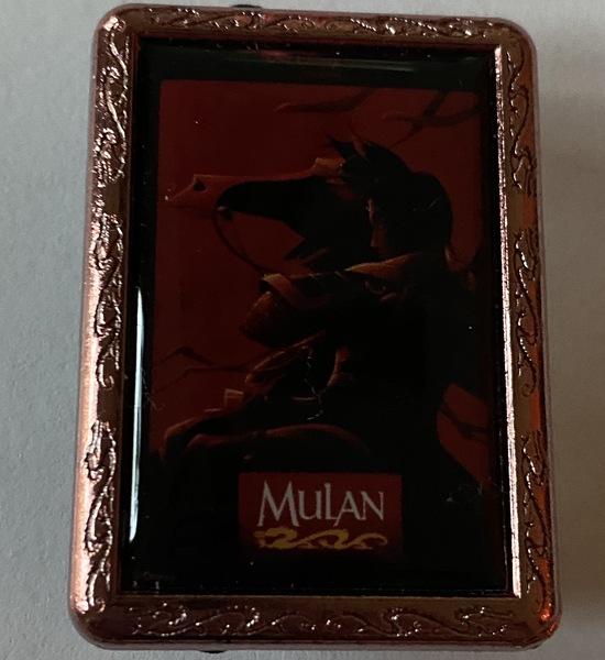 Mulan Movie Poster pin