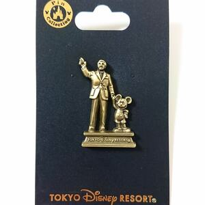 TDR - Walt and Mickey - Partners statue pin