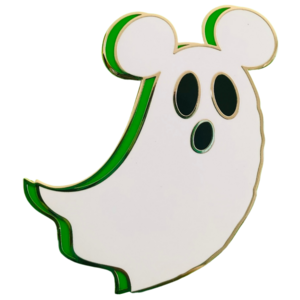 Ghost Mickey - Disneyland Paris 2019 pin