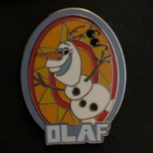Olaf Character pin pin