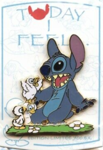 Today I Feel...Surprised - Stitch pin