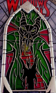 Maleficent Dragon - Windows of Evil pin
