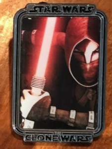 Asajj Ventress Clone Wars Mystery Portrait pin