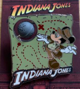 Mickey as Indiana Jones pin