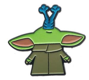 Amazon Exclusive Grogu Eating A Frog pin