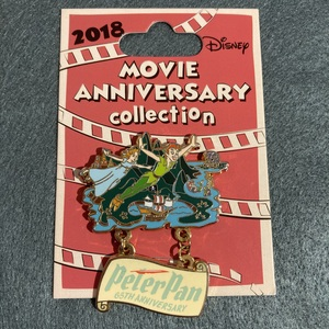WDW/DLR - Peter Pan 65th Anniversary (2018 Movie Anniversary collection) pin