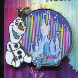 Disney Dreams - Olaf & Elsa - Frozen pin