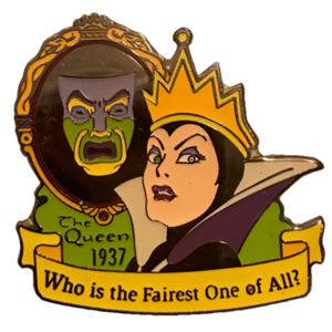 The Evil Queen Countdown to the Millennium pin