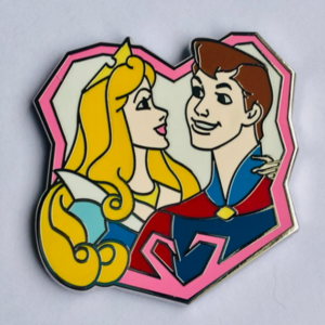 Aurora and Philip - Mystery Couples pin