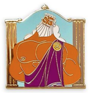 Zeus - Hercules Gods Mystery Pin Set pin