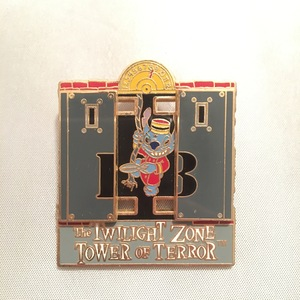 Stitch Twlight Zone Tower of Terror pin