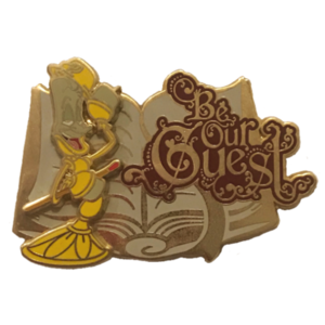 Disney Store Cast Exclusive - Be Our Guest (2017) pin