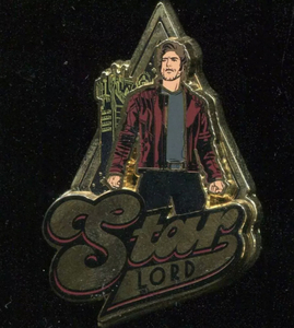 DCA - Guardians of The Galaxy - Mission: Breakout - Star Lord pin