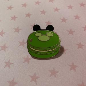 Green - Hidden Mickey Macarons pin