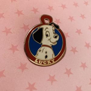Lucky Pet Tag pin