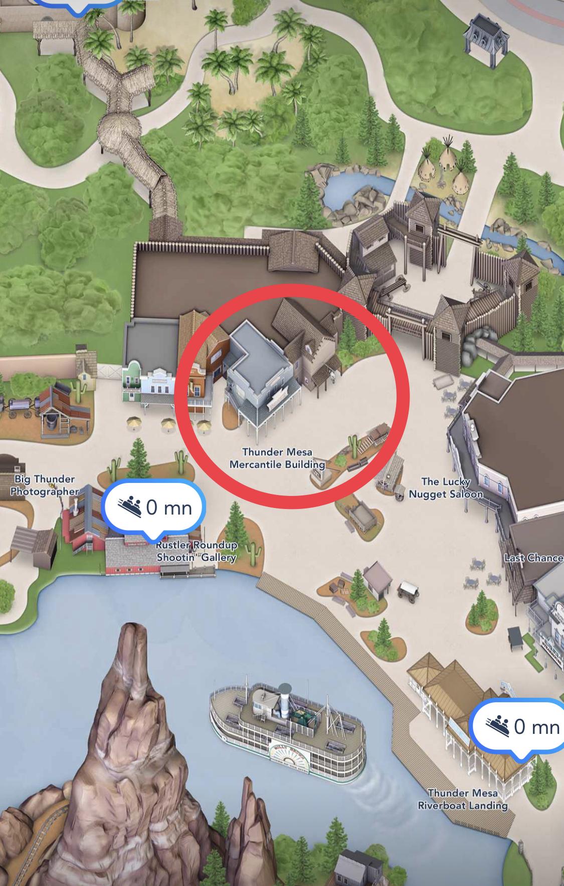 Trading Board Disneyland Paris - Thunder Mesa Mercantile