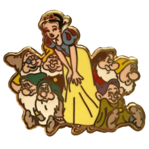 Jerry Leigh - Snow White and Dwarfs Grouped pin