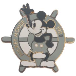 Mickey Mouse - 1928 - Ship's Wheel pin