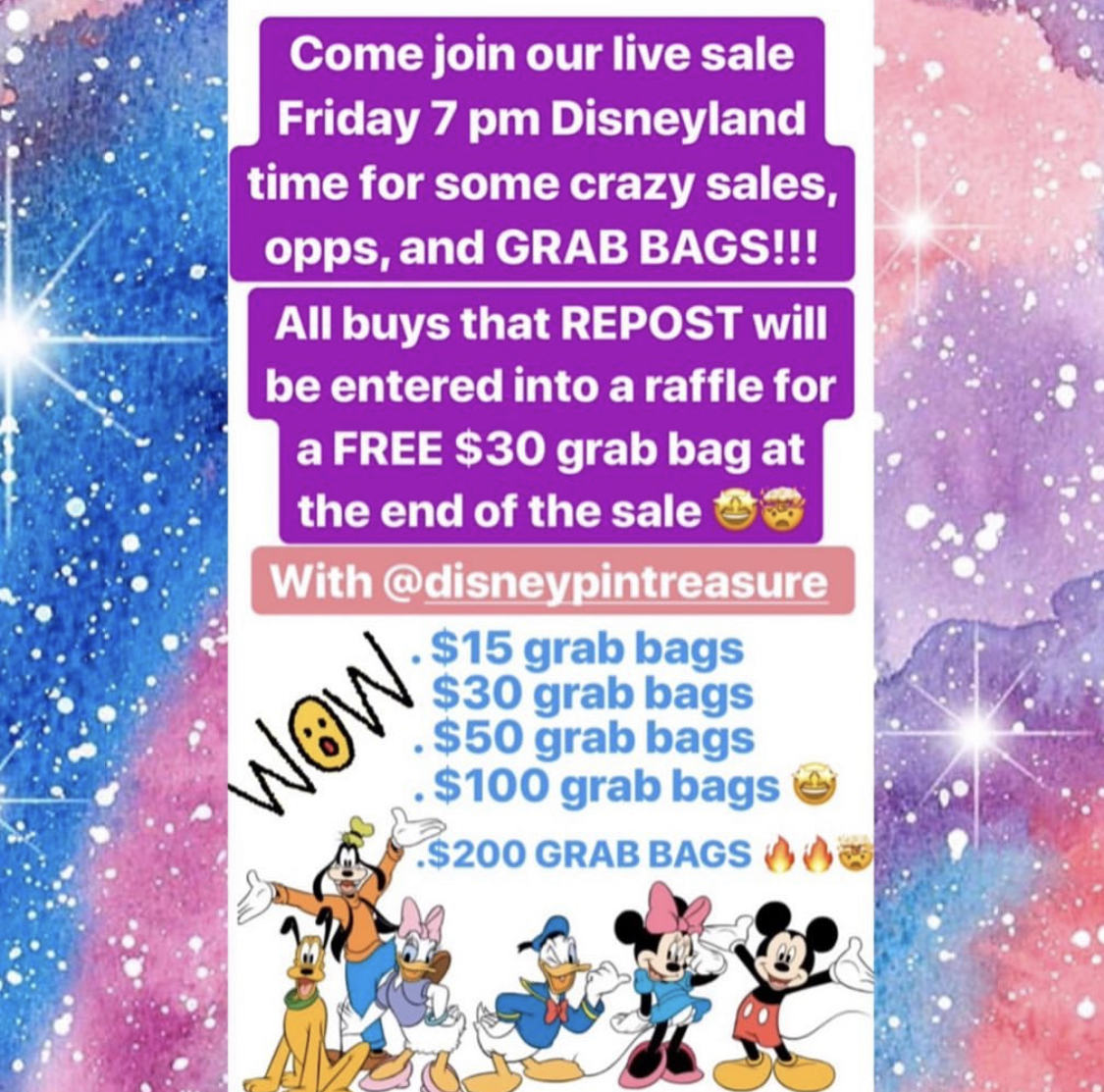 Disney693 Live Pin Sale