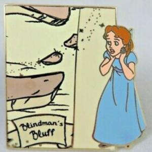 Wendy Darling - Neverland Map Mystery Set pin