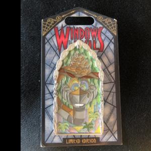 Kaa - Window of Evil pin