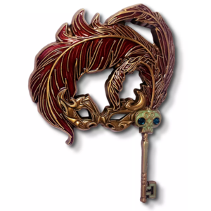 Lady Tremaine's Midnight Masquerade mask pin