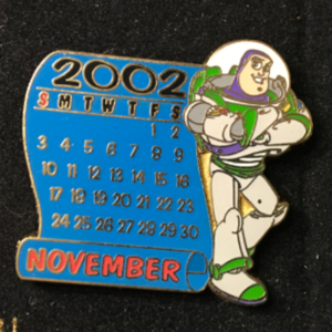 DS - 12 Months of Magic - November: Buzz  pin
