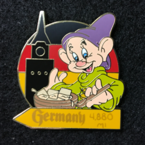 WDW Epcot Food and Wine Mystery Dopey Germany  pin
