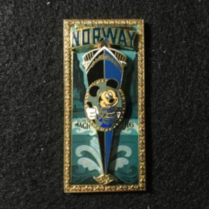 DCL Disney Magic Norway 2016 pin