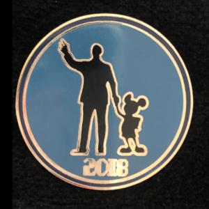 Walt and Mickey 2018  pin