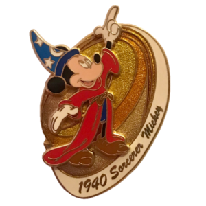 Disney Visa 2006 - Mickey Through the Years - 1940: Sorcerer Mickey pin