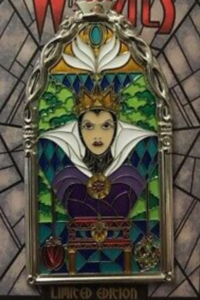Evil Queen - Windows of Evil pin