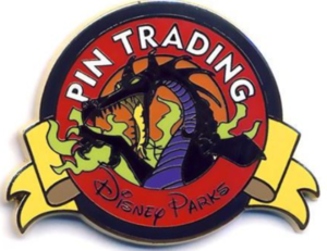Maleficent Dragon (Color) - Keep on Trading Mystery Collection pin