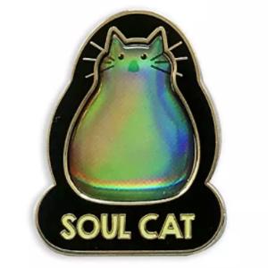Soul Cat shimmer pin