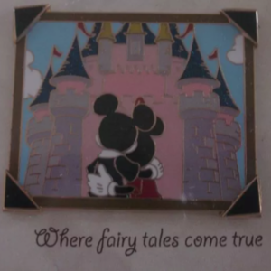 Mickey & Minnie Mouse - Sleeping Beauty Castle - Picture the Moment pin