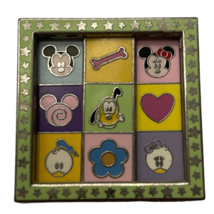 Interactive Cutie pin - Mickey and Friends pin