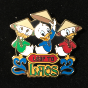 Adventures by Disney Leap To Laos pin
