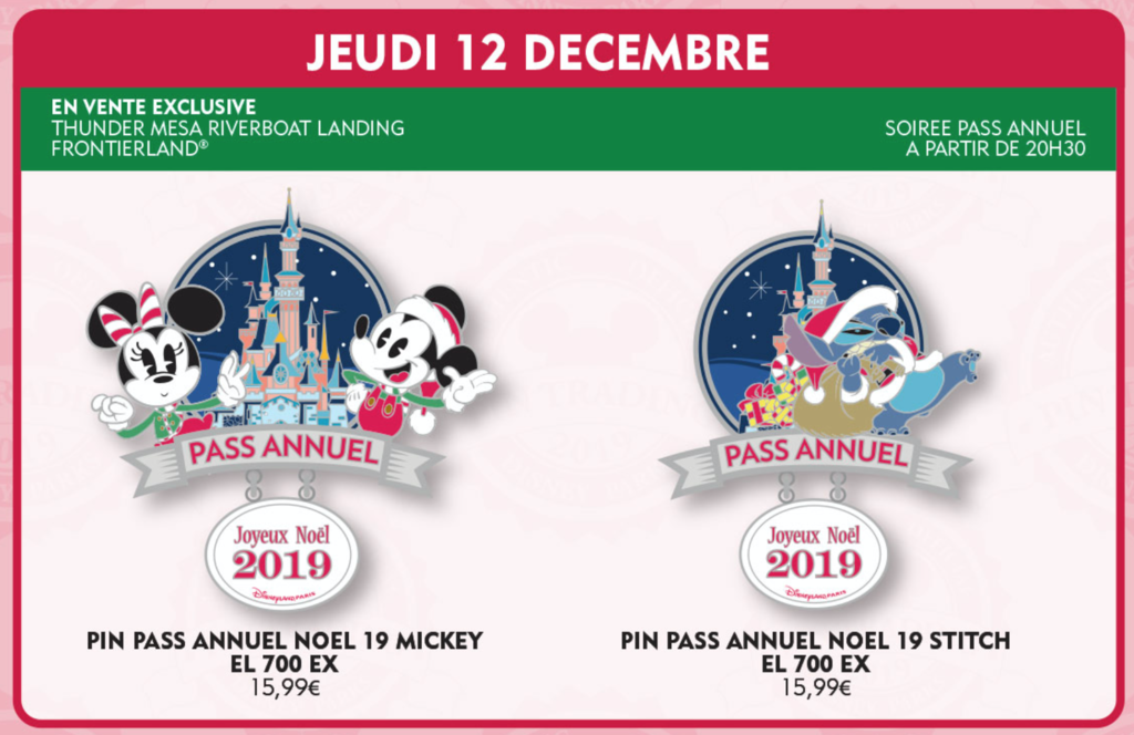 December 12th pin releases