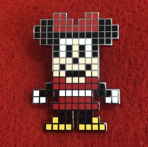 Digital Disney Minnie Mouse pin