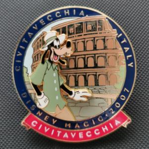 Disney Magic 2007 - Civitavecchia, Italy - Goofy pin
