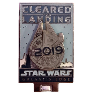 DL - Annual Passholder - Star Wars: Galaxy's Edge - Cleared for Landing 2019 pin