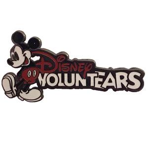 WDW - Cast Exclusive - Disney VoluntEARS Program - Mickey and Logo pin