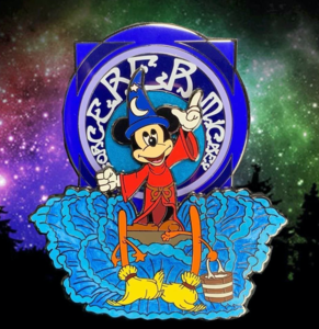 Hooks Pins Sorcerer Mickey pin