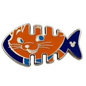 Toulouse - Hidden Mickey Fishbone pin