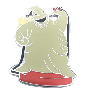 Oogie Boogie popcorn pail/bucket - Pin Trading Carnival pin